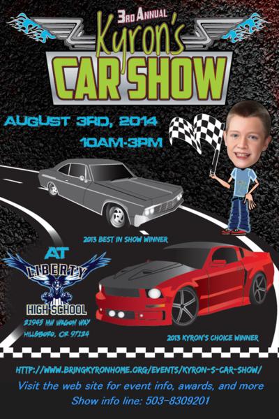 Kyrons Car Show